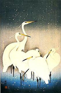 Shosun, Five Egrets
