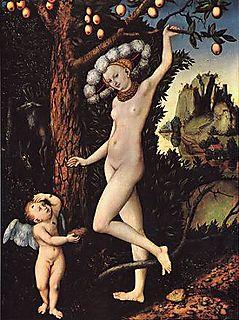 Cranach-cupid complaining to venus