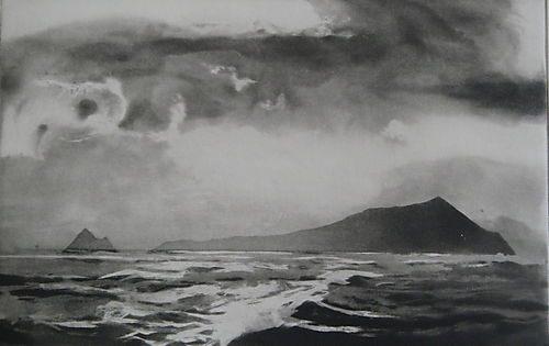 Blasket Co Kerry - Norman Ackroyd