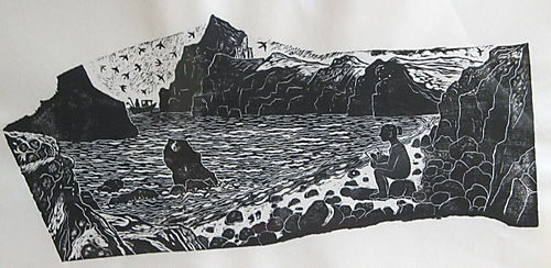 Drawing in the hebrides - judith lockie