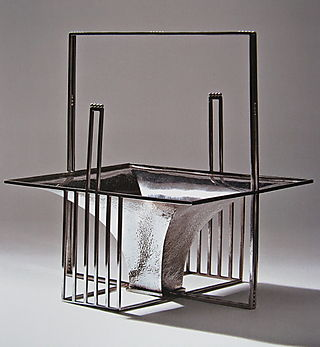 Josef Hoffman silver fruit basket 1904