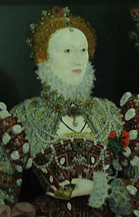 Queen Elizabeth - attrib Hilliard