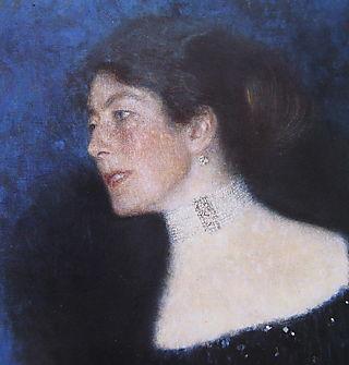 Rose von Rosthorn-Friedmann (detail) Klimt
