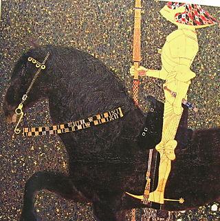 Life Is A Struggle (detail) Klimt