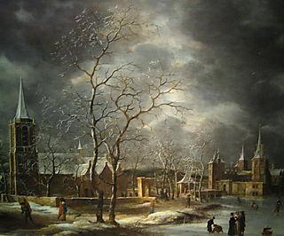 Jan Beerstraten - Warmond castle - detail