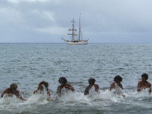 Water music Santa maria Vanuatu