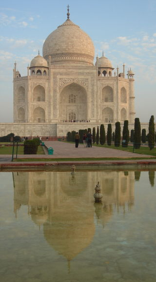 Taj Mahal in the dawn