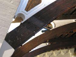 Gymnasium St Pancras - beam and truss