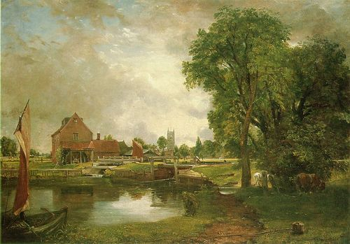 Constable dedham lock and mill