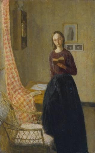 Gwen John Lady reading