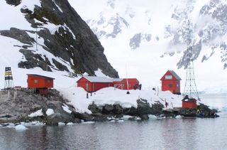 Argentine research station, Antarctic peninsula
