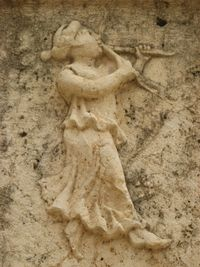 Jerash - theatre relief