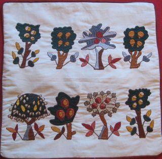 Petra silk embroidery