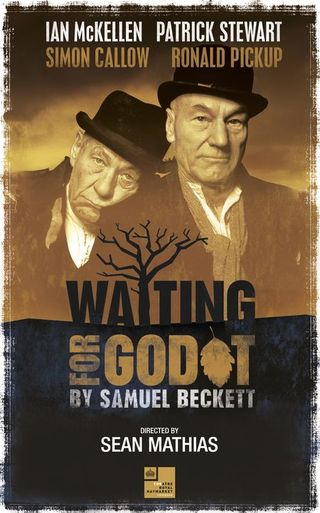 Waiting for Godot poster London 2009