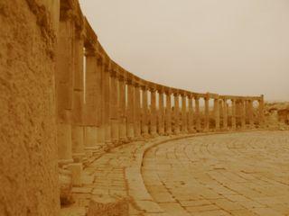 Jerash - oval plaza