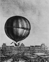 An early balloon expedition