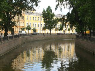 St Petersburg canal scene