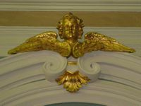 Peter and Paul Cathedral, St petersburg - baroque decoration
