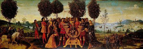 Bernardino Fungai, _Magnanimity_of_Scipio_Africanus.c.1500_Hermitage_