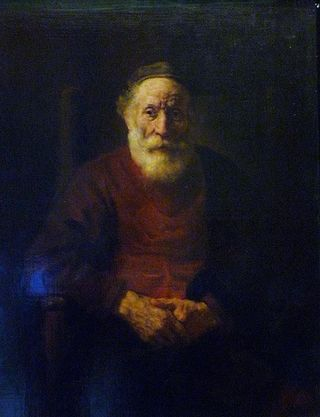 Rembrandt, Old Man in Red, Hermitage