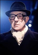 Alec Guiness as George Smiley