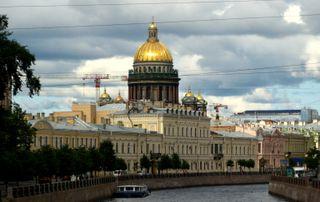 St Isaac's, St Petersburg