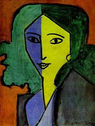 Matisse, Portrait of Lydia Delectorskaya, Hermitage