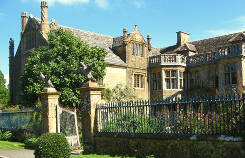 Mapperton - the Jacobean house