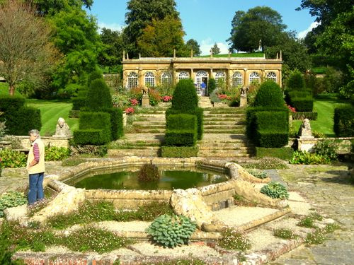 Mapperton - the italianate garden