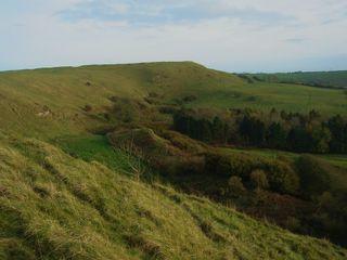 View from Eggardon Hill