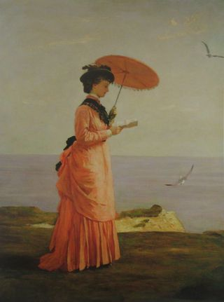 Prinsep, Lady Tennyson on Afton Downs