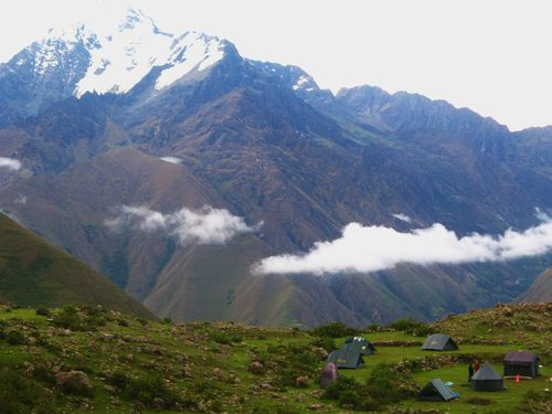 Mt Veronica and trekking camp
