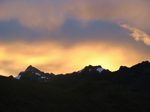 Mountains near the Urubamba, Peru