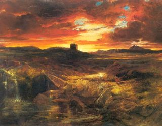 Thomas Moran's Childe Roland To The Dark Tower Came, 1899