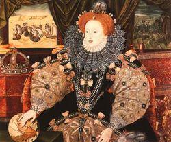 Elizabeth I, by George Gower, 1588