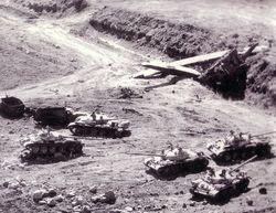 Syrian tanks abandoned, Yom_Kippur_War
