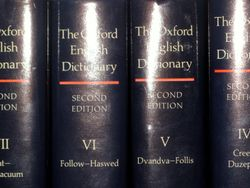 The dictionary in order!