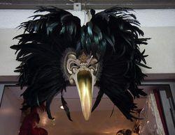 Venetian carnival bird mask