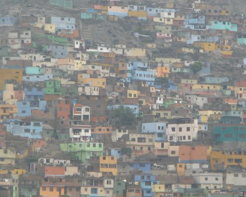 Barrio in Lima