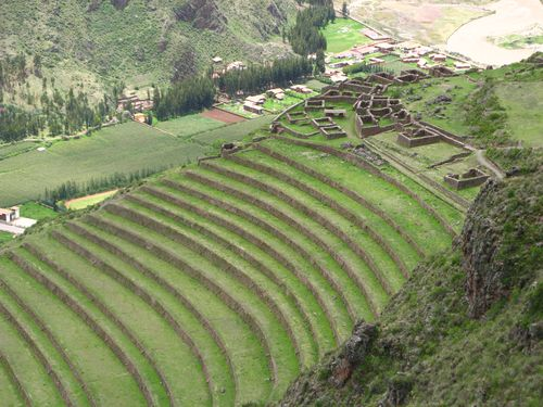Inca terraces, Pisac