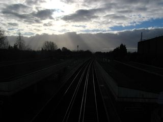 Hayes station - cold and early