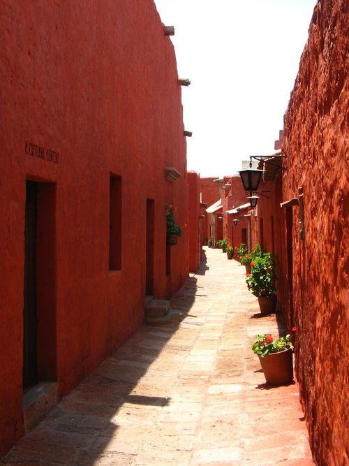 Street in Santa Catalina, Arequipa