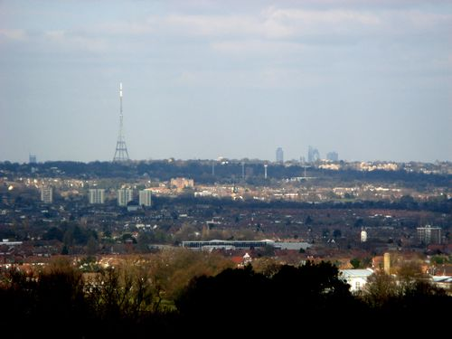 London, from Addington Hills