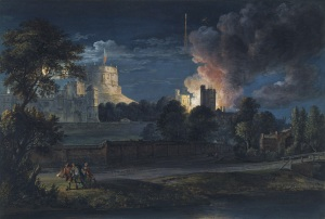 Paul Sandby - Windsor on a Rejoicing Night