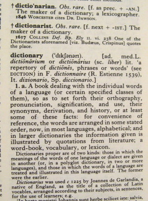 Oed_dictionary